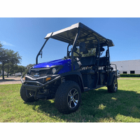 Trailmaster Taurus 6- 450-- Six Seat 4X4- Fuel Injected- Liquid Cooled, Rear Receiver , Light package included Blinkers. Head Lights, brake lights and horn-