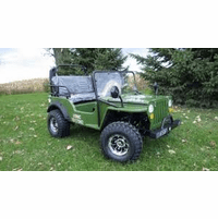 Willy's Deluxe Upgraded Mini Jeep - Series 2 -