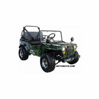 Coolster GK6125A Deluxe Upgraded Mini Jeep - Series 2 -