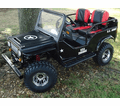 Willy's Deluxe Upgraded Mini Jeep - Series 2 -  BACK ORDERED UNTIL 6/14