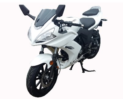 YAMASAKI X50 Deluxe Full Size 50cc Motorcycle - 4-Speed Manual Transmission - Free Shipping -