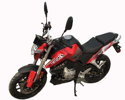 YAMASAKI X70 Deluxe Full Size 50cc Motorcycle - 4-Speed Manual Transmission - Free Shipping -