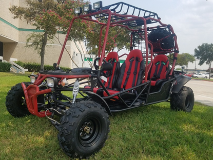 Yamobuggy Hummer 200 Deluxe 4-Seater Go-Kart / Dune/Buggy - Free Spare Tire  & Mount* - FREE SHIPPING! Local Terminal