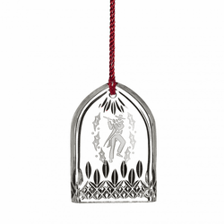 12 Days of Christmas 2018 Lismore Eleven Pipers Ornament by Waterford