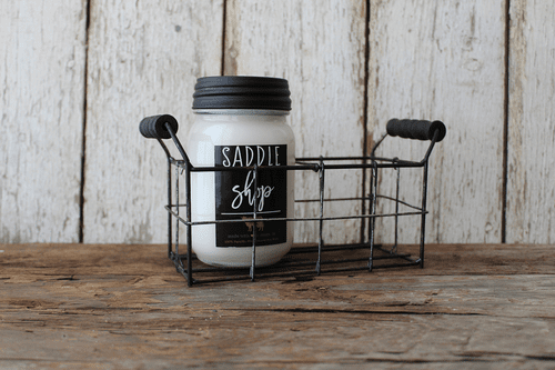 2 Cell Mason Jar Holder by Milkhouse Candle Creamery