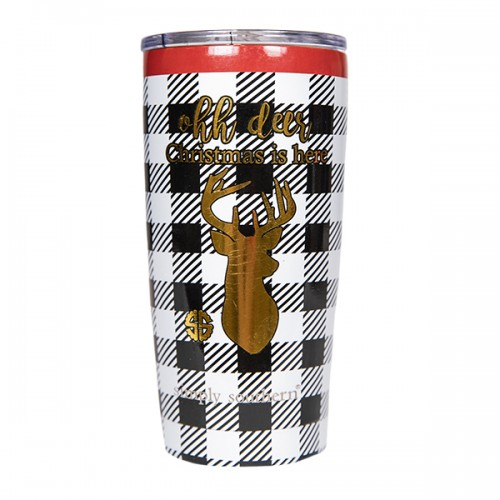 20 oz. Deer Tumbler by Simply Southern