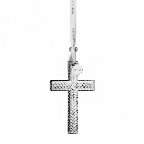 2019 Cross Ornament by Waterford