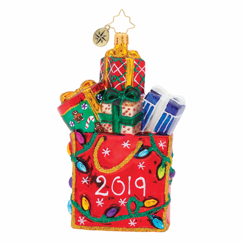 2019 Goodie Bag Ornament by Christopher Radko