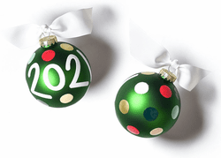 2021 Glass Ornament by Happy Everything!