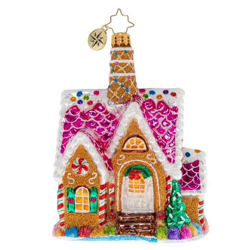 A Delectable Dwelling Ornament by Christopher Radko