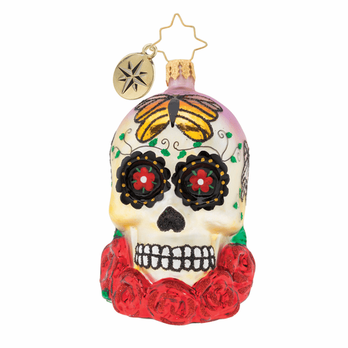 A Head For Details Gem Ornament by Christopher Radko