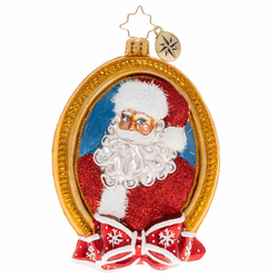 A Prized Portrait Ornament by Christopher Radko
