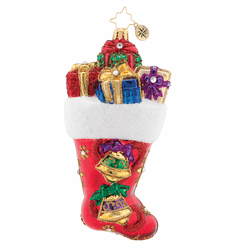 A Stocking You Can Hear! Ornament by Christopher Radko