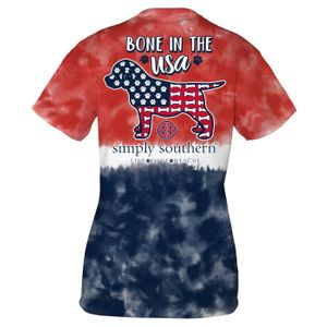 America Bone Short Sleeve Tee by Simply Southern