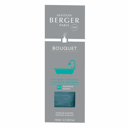 Anti-Bathroom Odour No. 1 - Aquatic Reed Diffuser - Maison Berger by Lampe Berger
