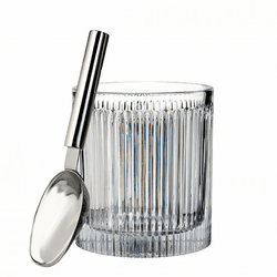 Aras Ice Bucket with Scoop by Waterford