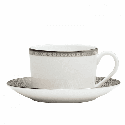 Aras Teacup & Saucer Set by Waterford