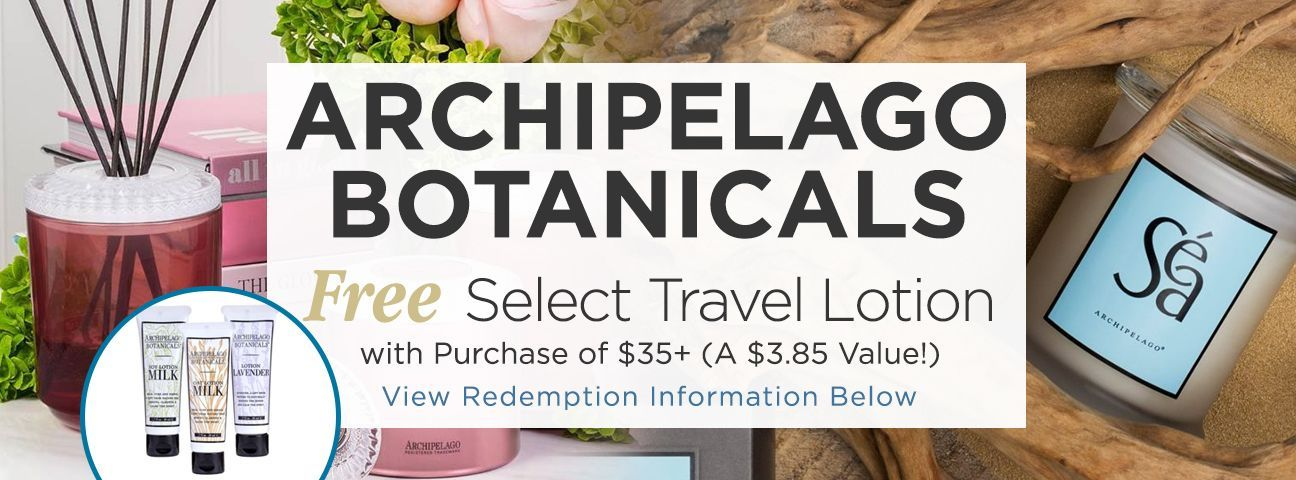 Archipelago Travel Lotion
