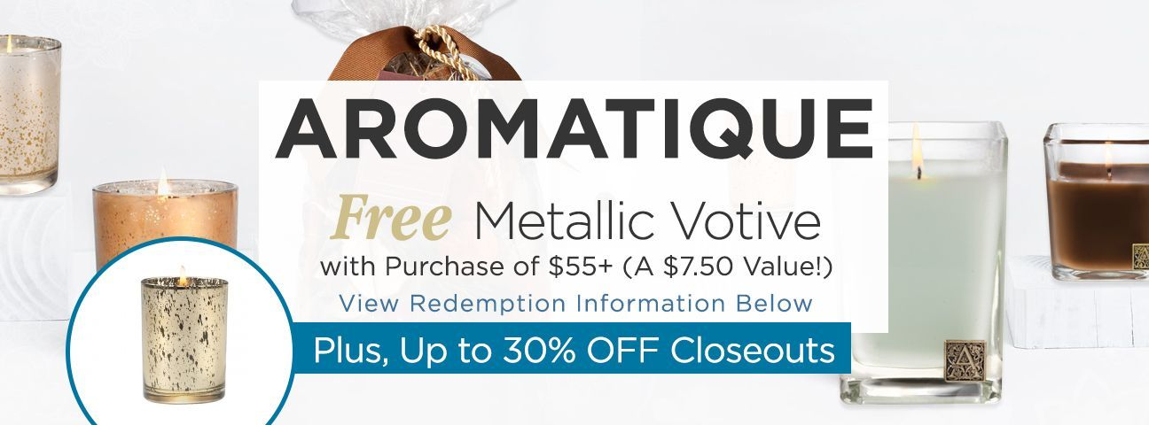 Aromatique Fragrance Closeouts