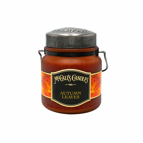 Autumn Leaves Amber 16 oz. McCall's Classic Jar Candle