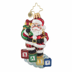 Baby Steps Gem Ornament by Christopher Radko