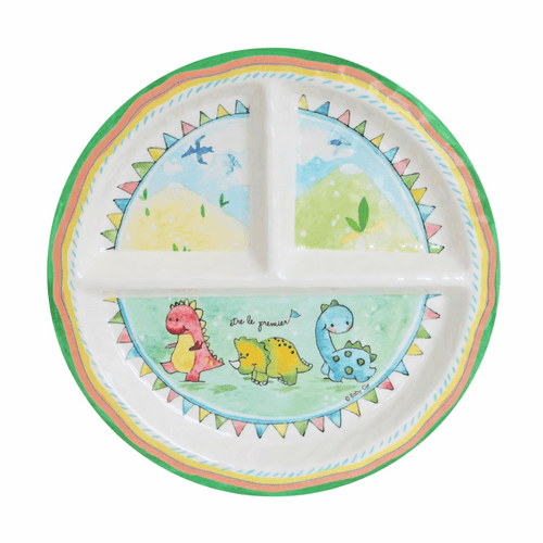 Be the Leader Sectioned Plate by Baby Cie