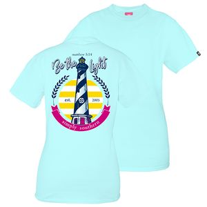 Be the Light Short Sleeve Tee by Simply Southern