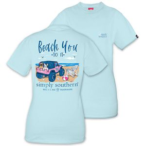 Beach You To It Short Sleeve Tee by Simply Southern