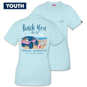 Beach You To It YOUTH Short Sleeve Tee by Simply Southern