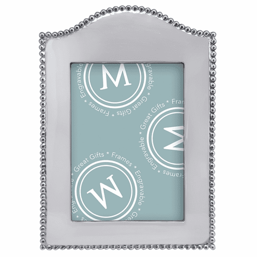 Beaded Arched Vertical 5x7 Frame by Mariposa