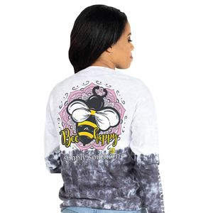 Bee Happy Smokey Long Sleeve by Simply Southern