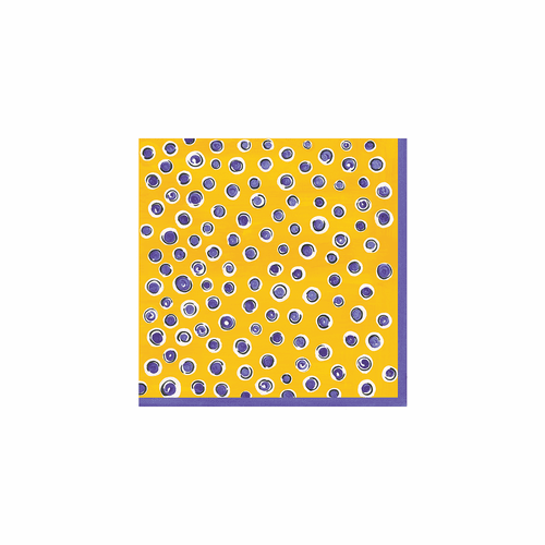 Benidorm Patterned Paper Cocktail Napkin (Pack of 20) by Le Cadeaux