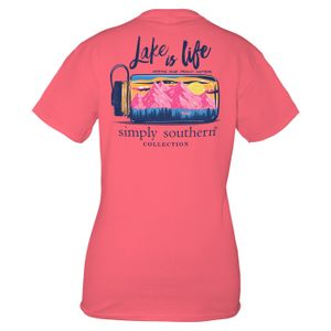 Bergonia Lake Short Sleeve Tee by Simply Southern
