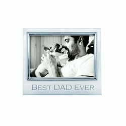 "Best Dad Ever 4x6"" Signature Frame by Mariposa"
