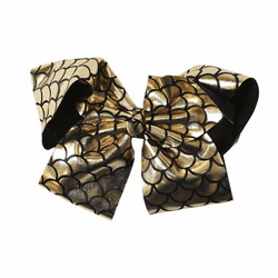 Black Fishscale Bow by Simply Southern