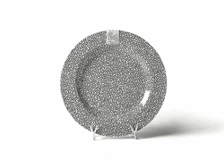 Black Small Dot Entertaining Big Platter by Happy Everything! - Special Order