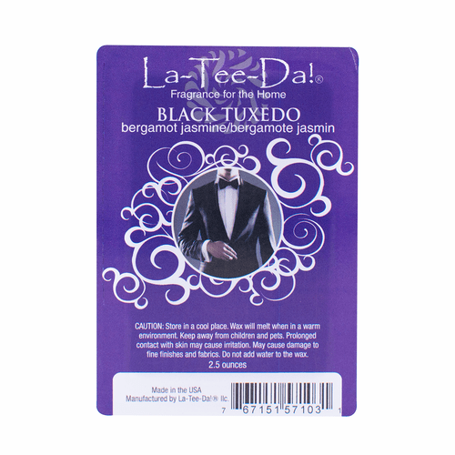 Black Tuxedo Magic Melts by La Tee Da