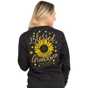 Blessed Grandma Long Sleeve by Simply Southern