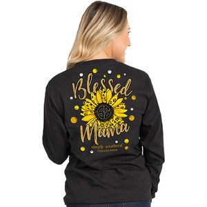 Blessed Mama Long Sleeve by Simply Southern