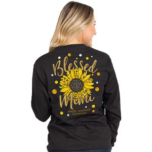 Blessed Mimi Long Sleeve by Simply Southern