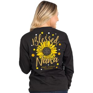 Blessed Nana Long Sleeve by Simply Southern