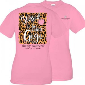 Blessed To Be Called Gigi Short Sleeve Tee by Simply Southern