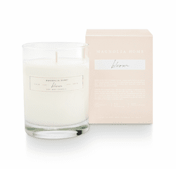 Bloom Boxed Glass Candle  - Magnolia Home by Joanna Gaines