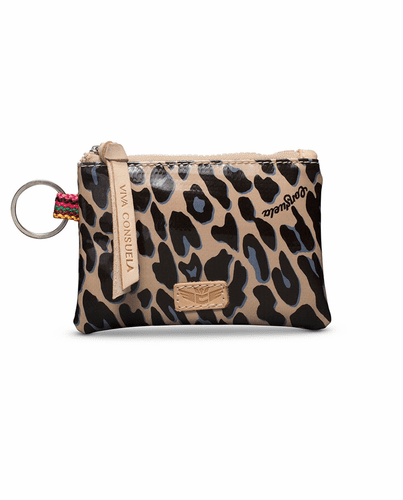 Blue Jag Teeny Pouch by Consuela