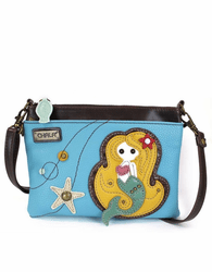 Blue Mermaid Mini Crossbody by Chala