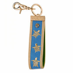 Blue Turtle Grab-n-Go Keychain by Spartina 449