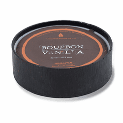 Bourbon Vanilla 22 oz. Forged Blacksmith Bowl Candle by Himalayan Candles
