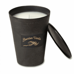 Bourbon Vanilla 8 oz. Blacksmith Candle by Himalayan Candles