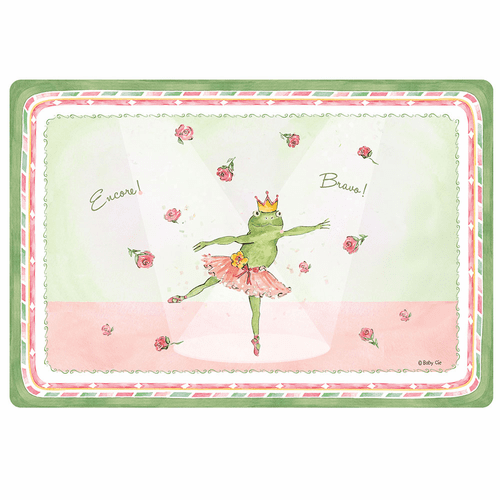 "Bravo! Encore! Anti-Slip 17"" x 11.5"" Placemat by Baby Cie"