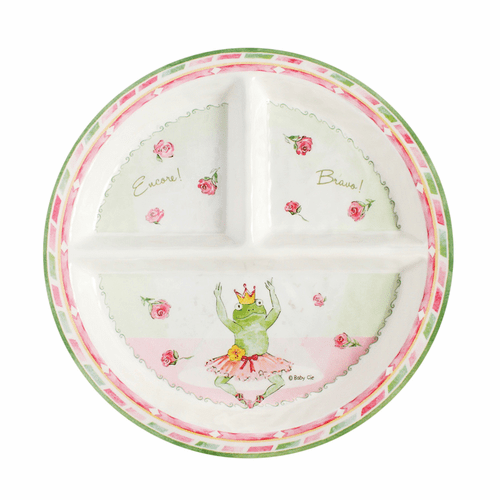 Bravo! Encore! Sectioned Plate by Baby Cie